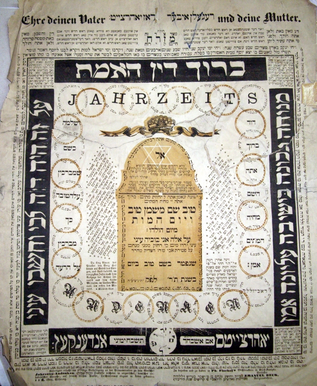 From the digital archives of the Hungarian Jewish Archives another example of a text that I use to be familiar to read in a different way I read the web
